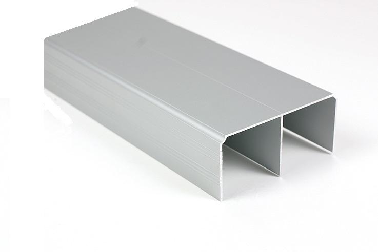 SUPER DUO 5 + Sliding Door Kits Silver