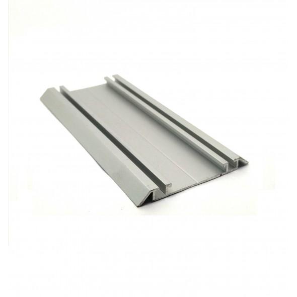 Bottom track Solar - Silver - 4m
