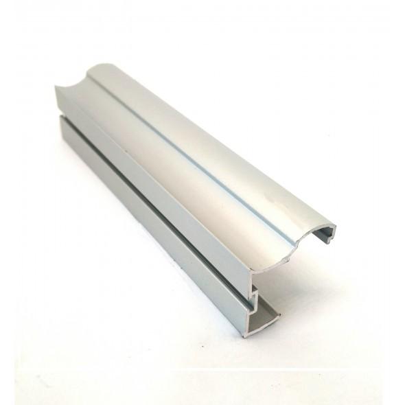 Handle Euro 5+ - Silver -  2.7m
