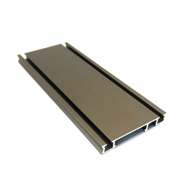 Bottom Track Solar CLIP - Bronze - 4m