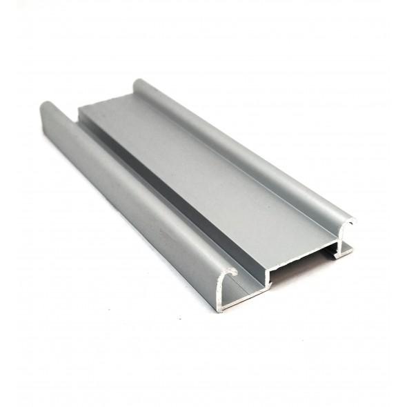 Bottom track Bis - Silver - 4m