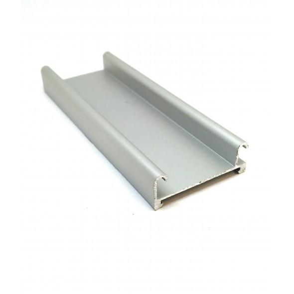 Bottom Track - Silver - 4m