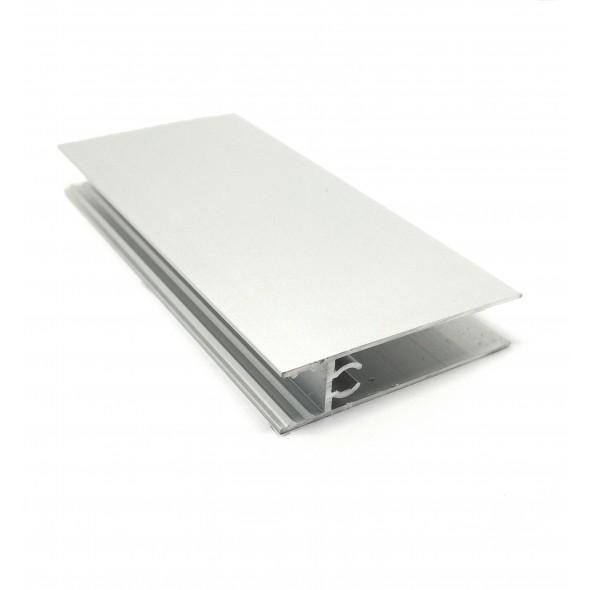 Lower horizontal profile Solar - Gun Metal  - 3m