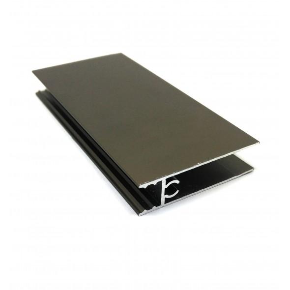 Lower horizontal profile Solar - Bronze  - 3m