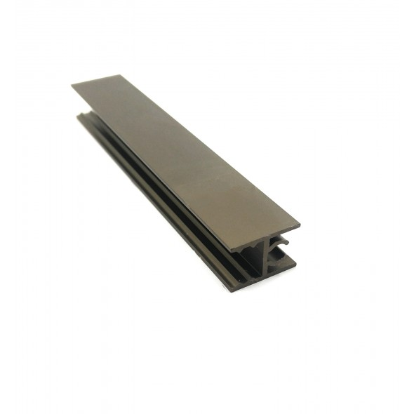 Upper horizontal profile Solar - Bronze - 3m