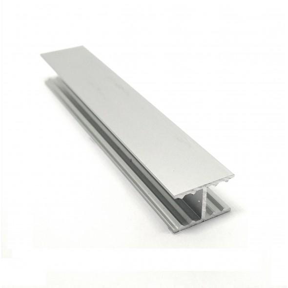 H-profile Solar - Silver - 3m