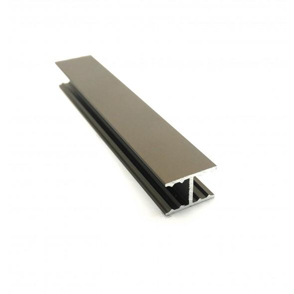 H-profile Solar - Bronze - 3m