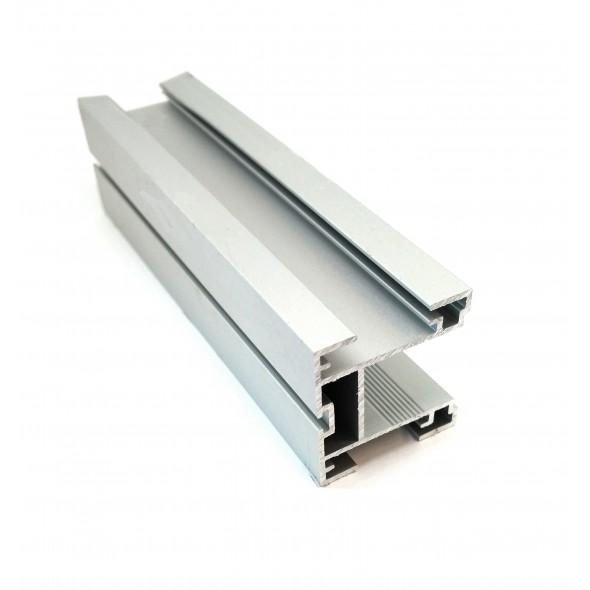 Handle PORTOS - Silver - 2.7m