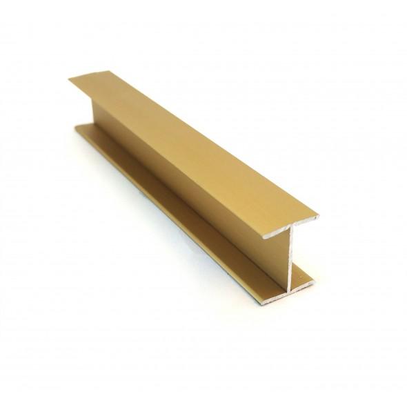 H-profile 18 - gold - 3m