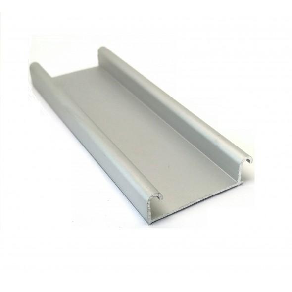 Bottom Track  Econo- Silver - 3m