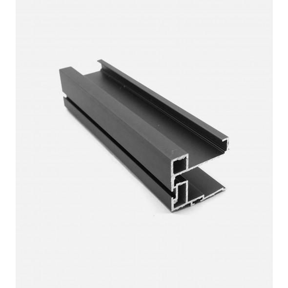 Handle NOVA - Black Brushed - 2.7m