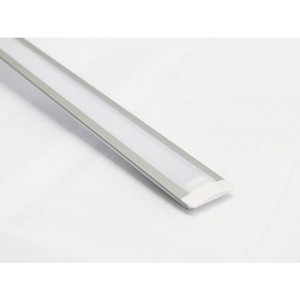 LED ALUMINIUM PROFILE 3M RECESSED/WITH 3M DIFFUSER