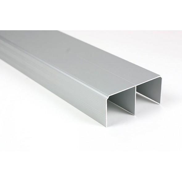 Top track - Silver - 3m