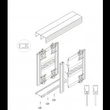 ALUSHAKER  Sliding Door Kits STONE GREY 2 Doors 2M tracks