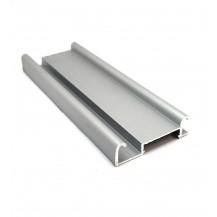 Bottom track Bis - Silver - 2m