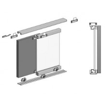 MICRO SLIDING DOOR KIT     (3 DOORS, 2M TRACKS)
